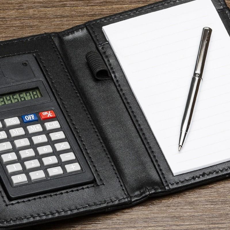 Bloco de Notas com Calculadora e Caneta - Ref.0019004 - A partir de...