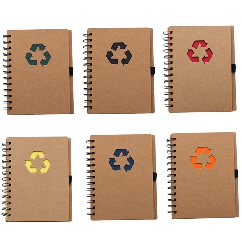 Bloco de Anotações Ecológico Recicle Vazado - Ref.0019068