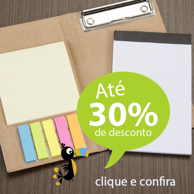 Bloco de Notas Calculadora e Post-It - Ref.0019058