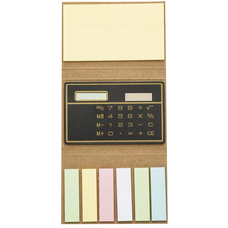 Bloco Ecológico Post-It e Calculadora - Ref.0019077