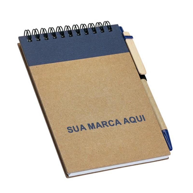Bloco Ecológico Sem Pauta + Caneta Eco - Ref.0019385 - A partir de...
