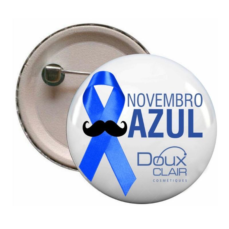 Bottons Novembro Azul - Ref.0047005 - A partir de