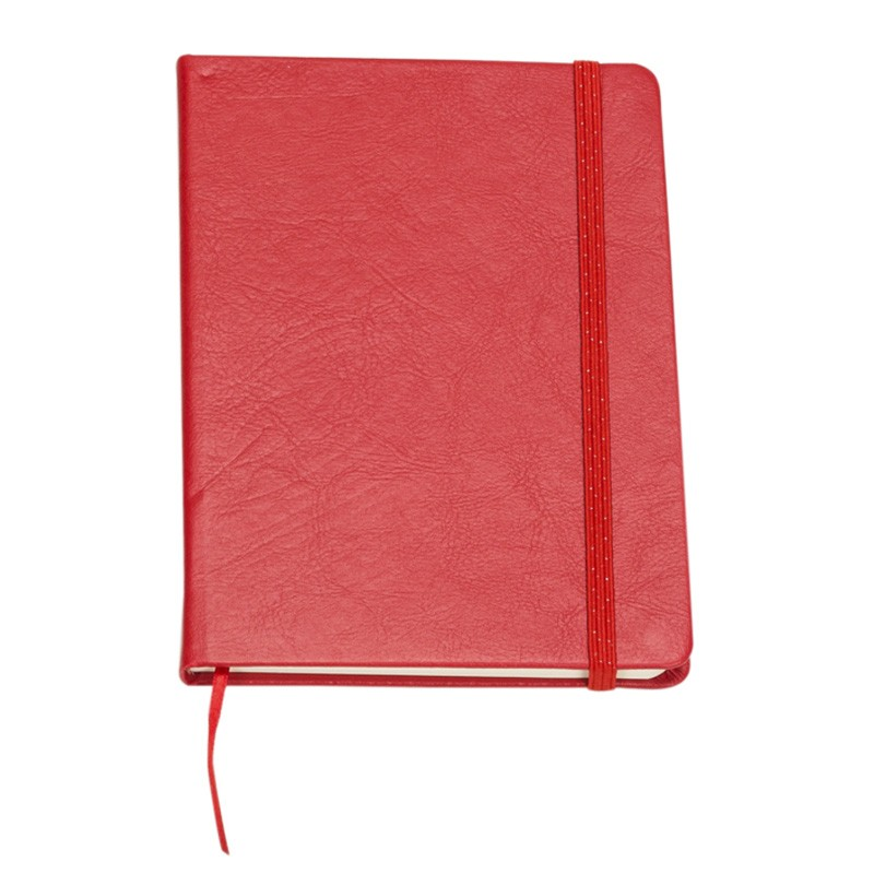 Caderneta tipo moleskine 18x13cm   Ref.0019045