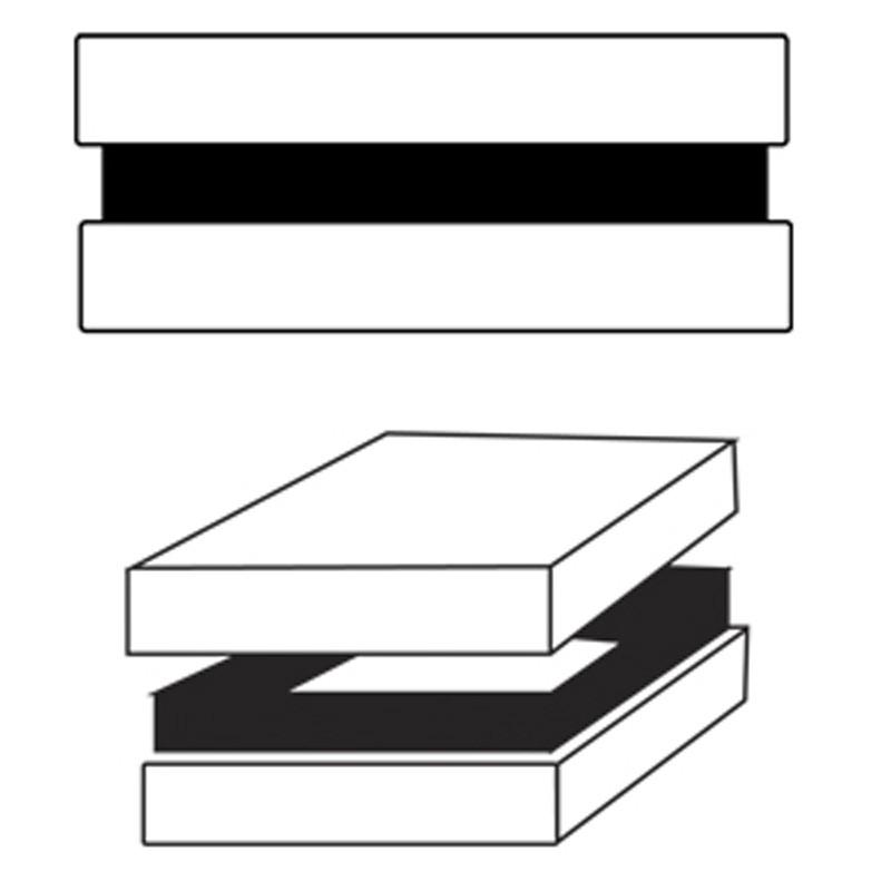 16x6x8,5cm - Caixa Rígida Base Exposta - REF.0104001