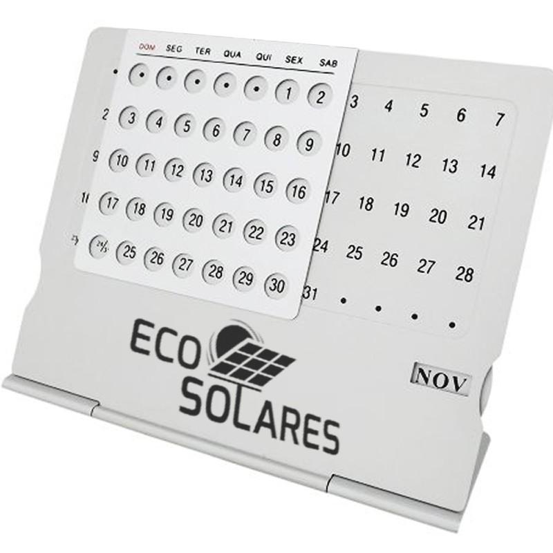 Calendário permanente de metal Ref.0013002