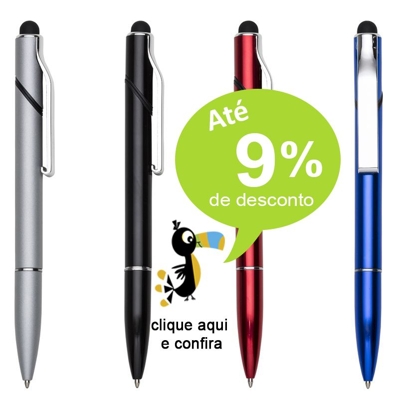 Caneta Multifuncional Touch - Ref. 0028940