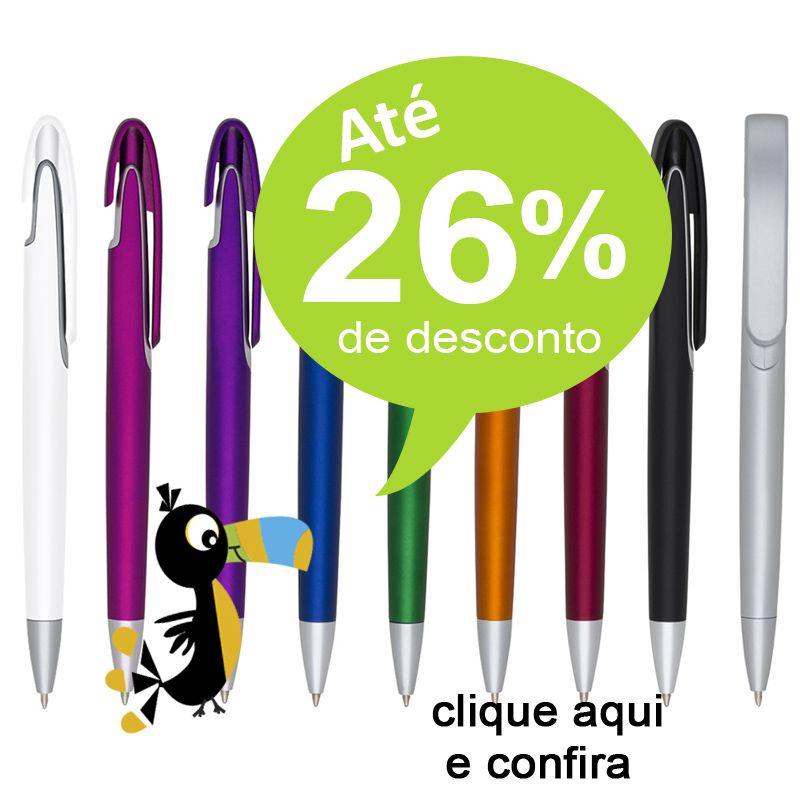 Recife - Caneta Plástica -  Ref.0028005