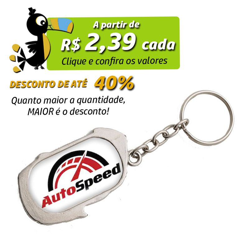 Carro Metal - Chaveiro - Ref.0044108