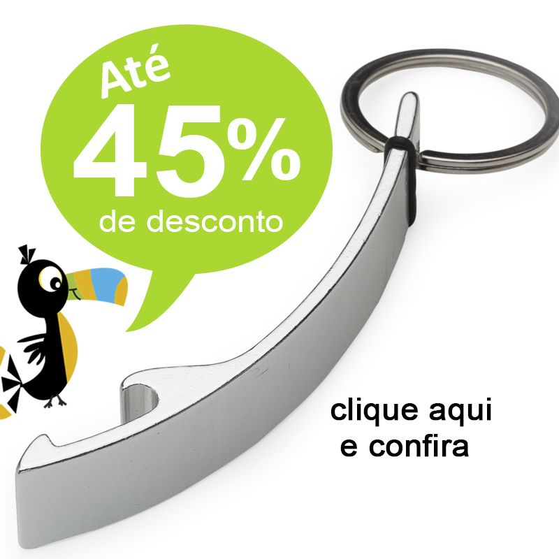Chaveiro Abridor Curvo - Ref.0044058