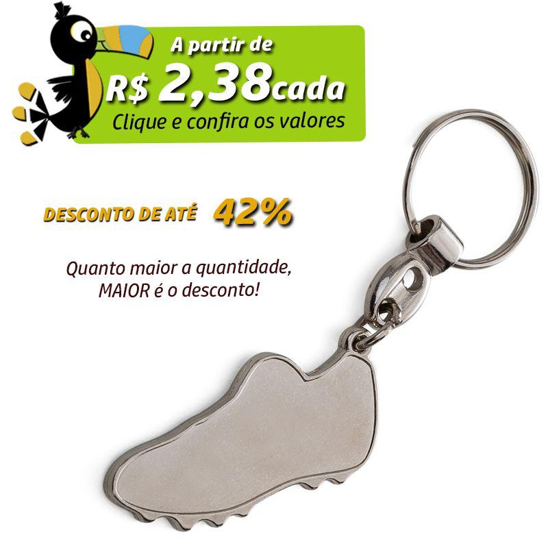 Chaveiro Chuteira Metal - Ref.0044109