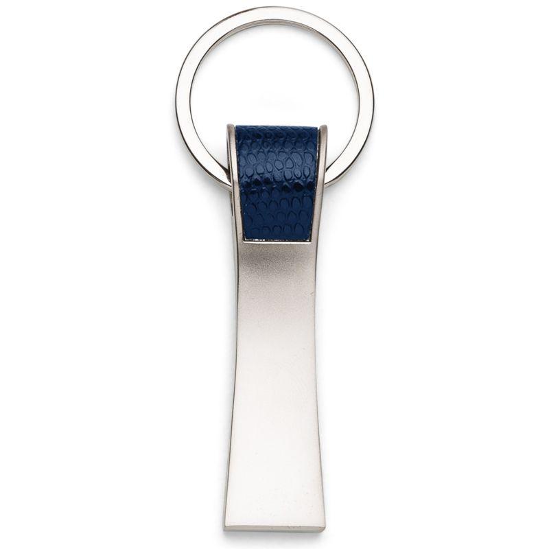 Chaveiro de Metal Detalhe em Couro - Ref.0044016