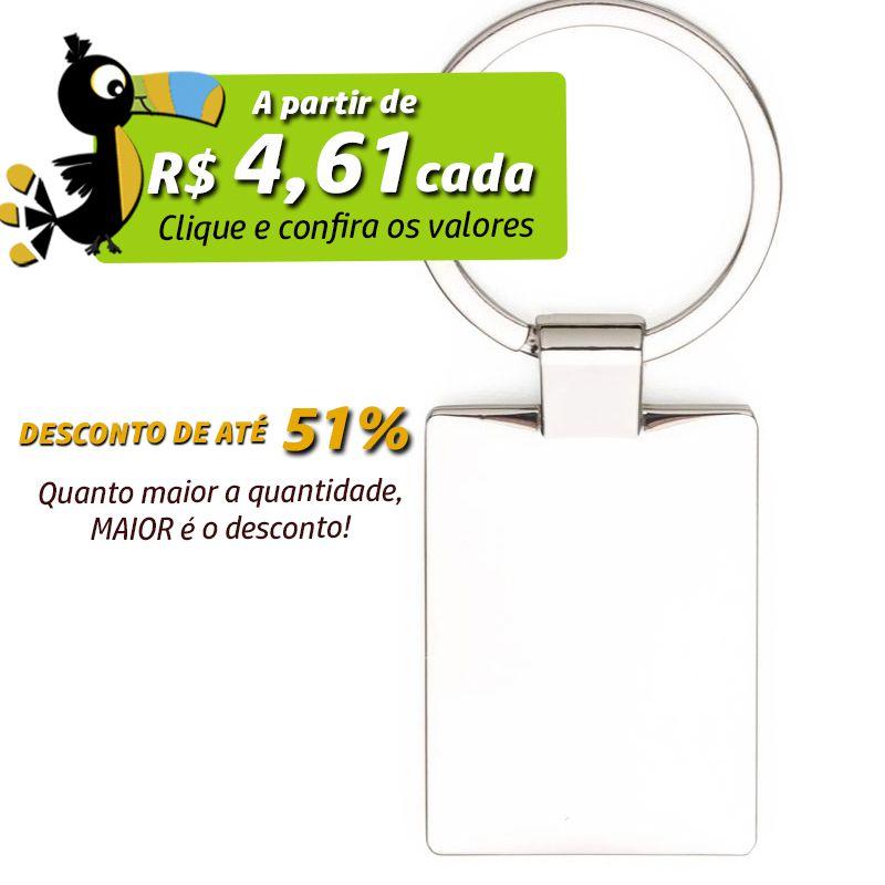 Chaveiro Frame - Metal - Ref.0044096
