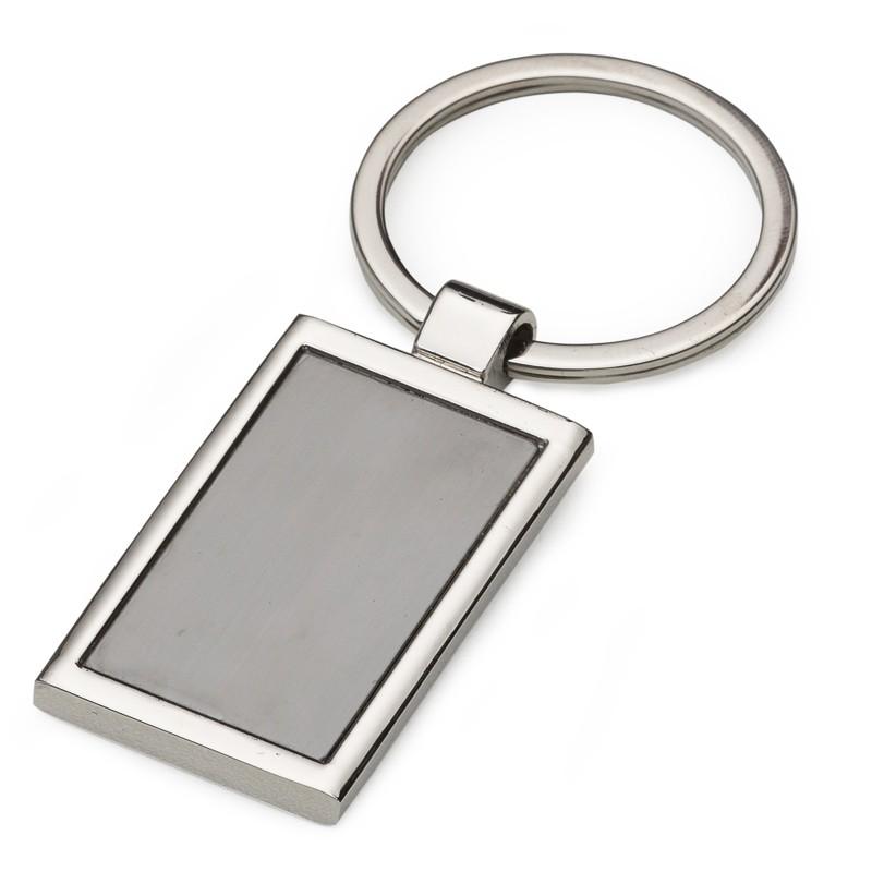 Chaveiro Metal retangular Ref.0044002