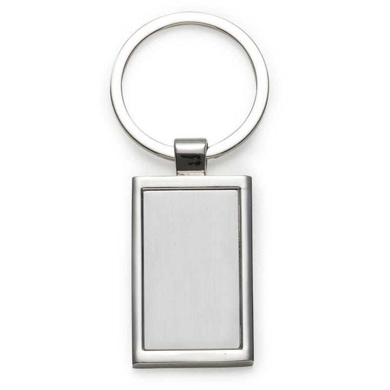 Chaveiro Metal Retangular -  Ref.0044002