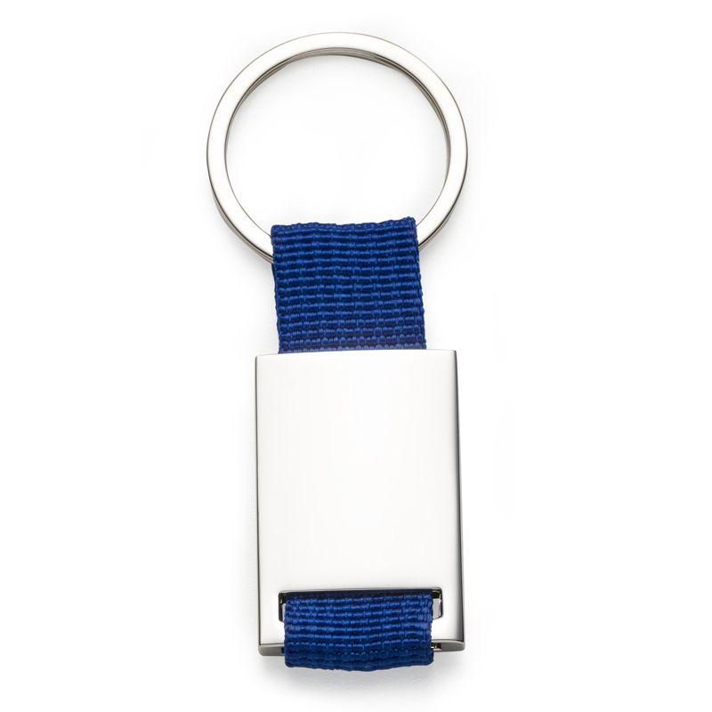 Chaveiro Nylon com Metal Brilho  - Ref.0044028