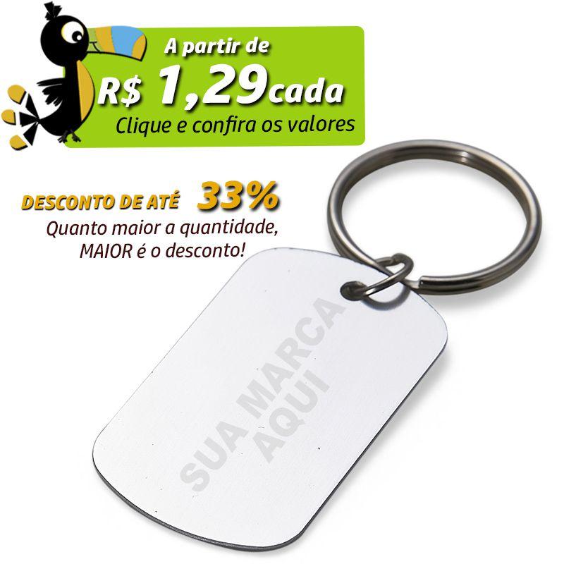 Chaveiro Plaquinha Oval  - Ref.0044111