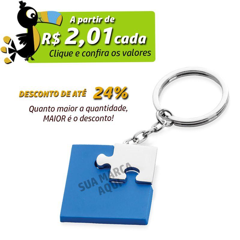 Chaveiro Quebra-Cabeça  - Ref.0044112