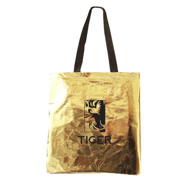 Ecobag  - Sacola TNT Metalizado 30 x 40cm - REF.0040051