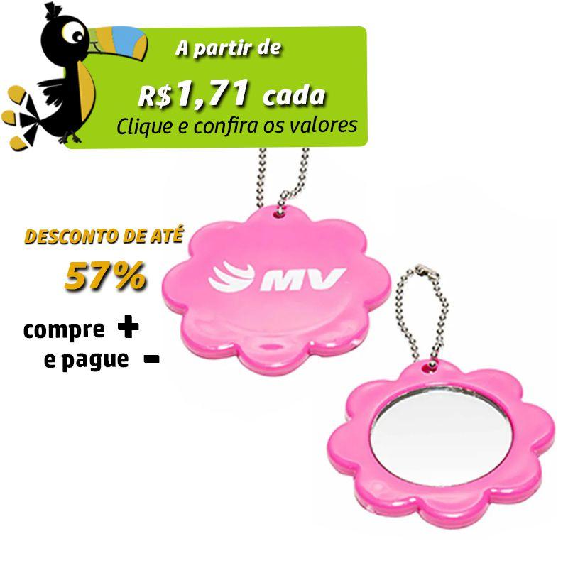 Espelho de Bolsa Flor - REF. 0020018