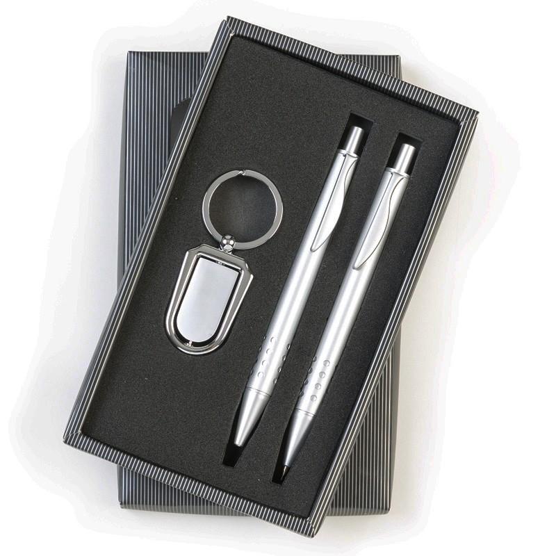 Kit Executivo 3 peças no estojo com visor - Ref.0029135