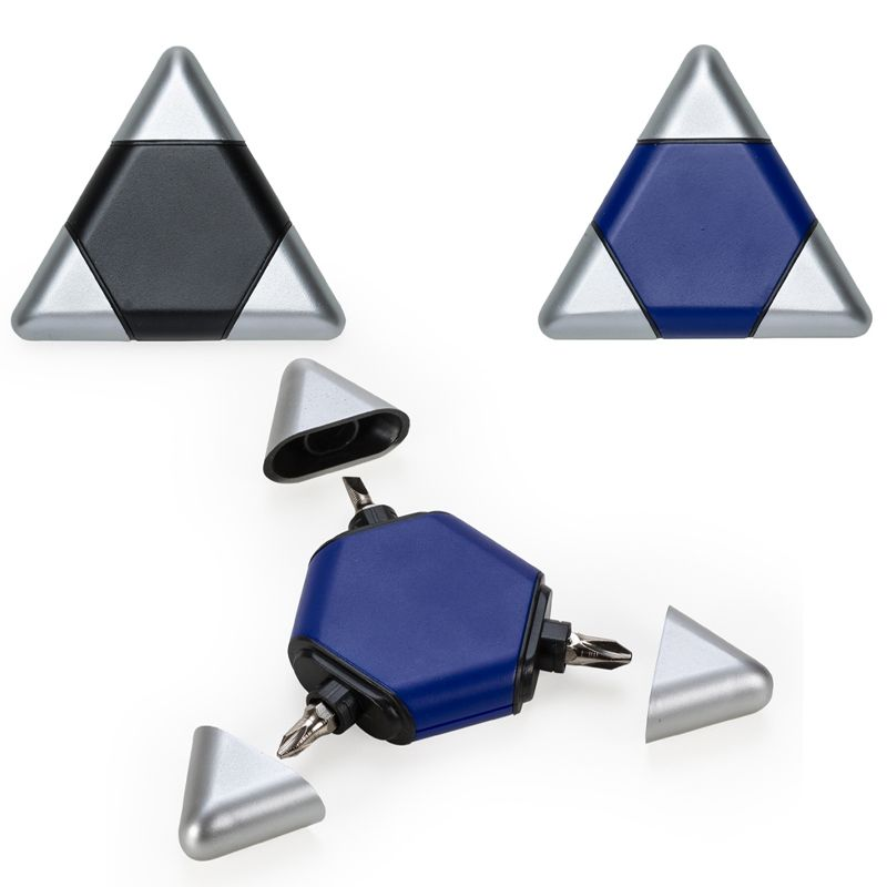 Kit Ferramentas 3 peças Triângulo - Ref. 0044130