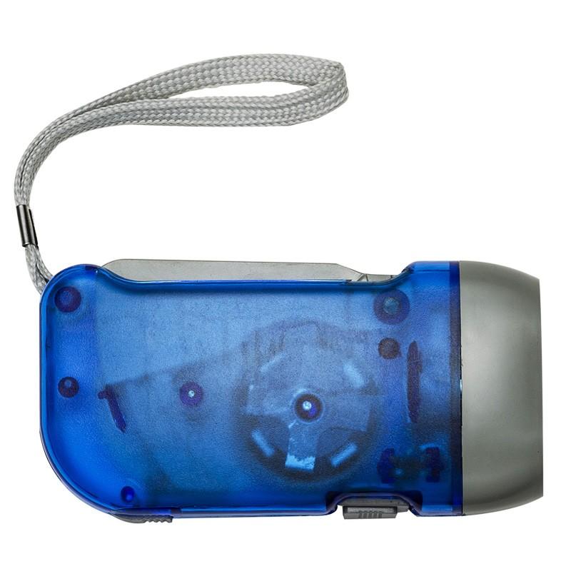 Lanterna Dínamo com 3 leds  Ref.0014777
