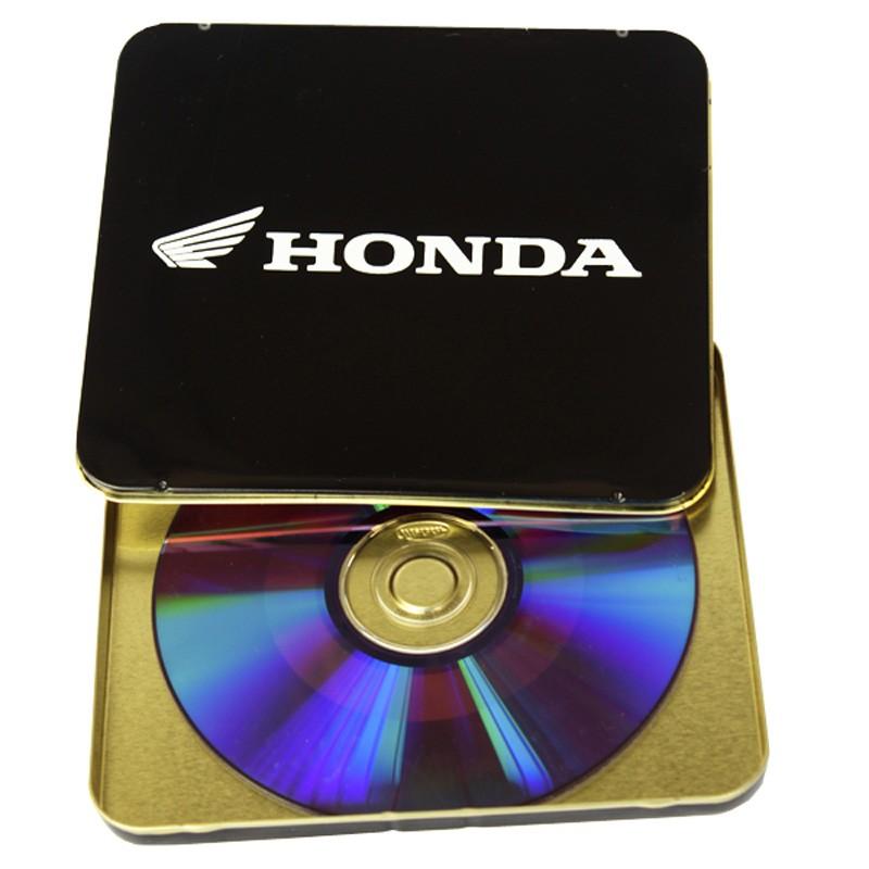 12,2 x 13,9 x 1CM - Lata CD / DVD Preta - REF.0011104