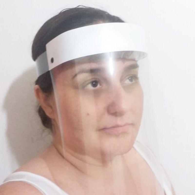 Mascara Protetora de Rosto PVC