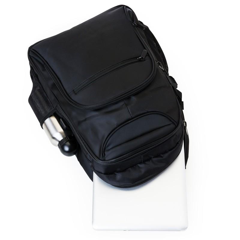 Mochila para Notebook - poliéster com detalhes em nylon e neoprene - Ref.0020130
