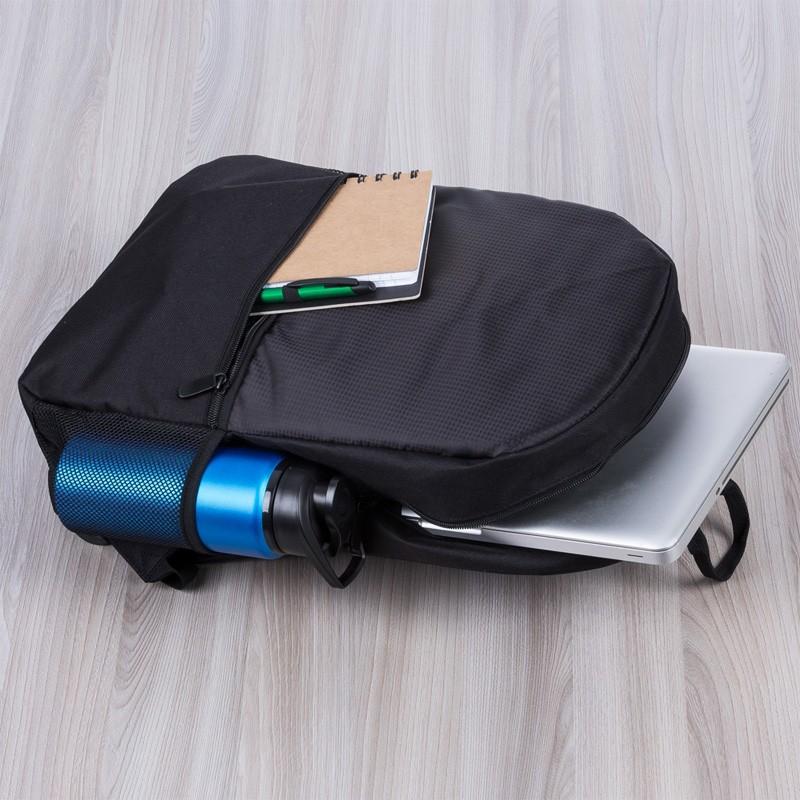 Mochila poliéster para notebook com detalhes em nylon e neoprene - Ref.0020160