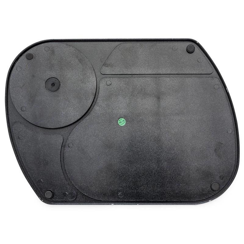 Mouse Pad Prata com calculadora plástica - Ref.0019235