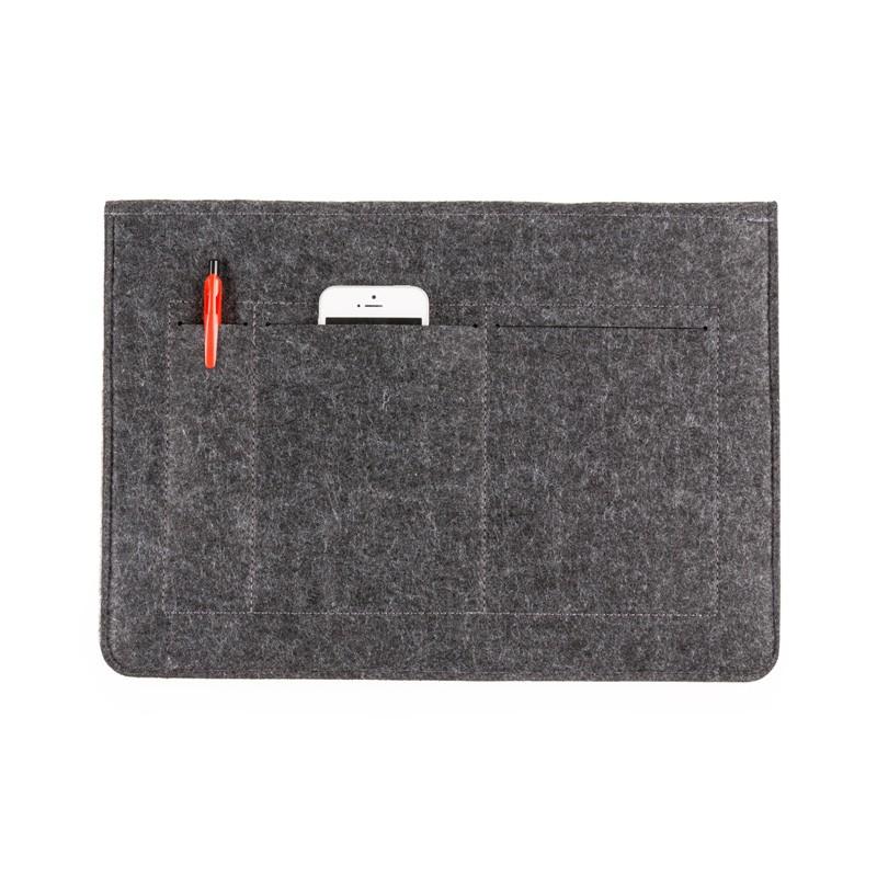 Pasta Envelope com forro e 2 bolsos internos - Tecido Feltro  Ref.0014060