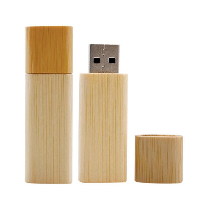 Pen Drive Bambu Retangular - Ref.0032039