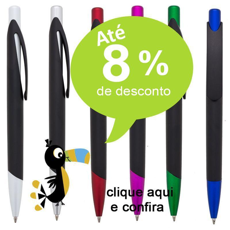 PETRÓPOLIS - Caneta Click com Clip Ref. 0028028