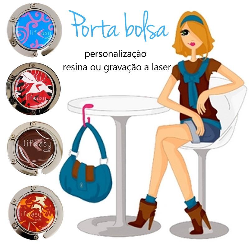 Porta Bolsa Metal Dobrável - Ref.0020014