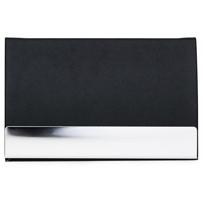 Porta Cartão couro sintético liso - Ref.0029230