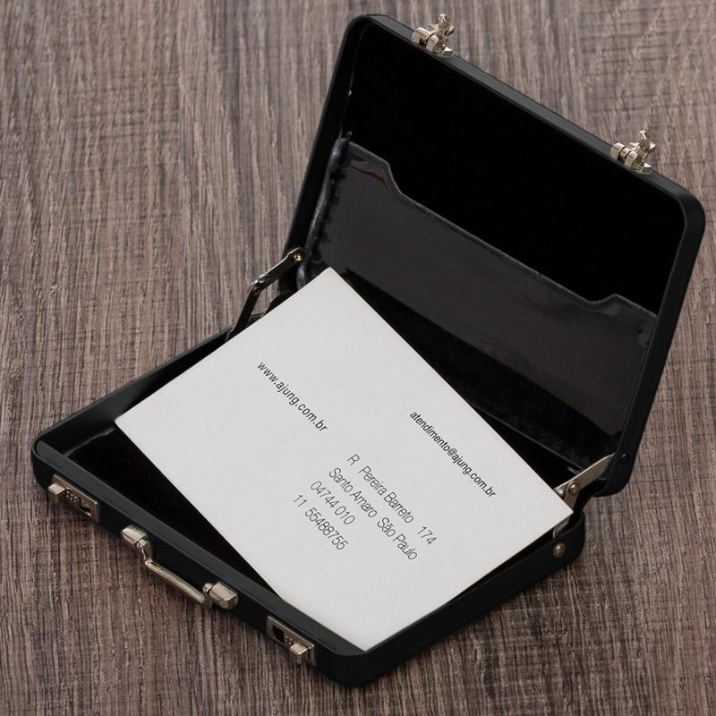 Porta Cartão Maleta Executiva - Ref.0029250