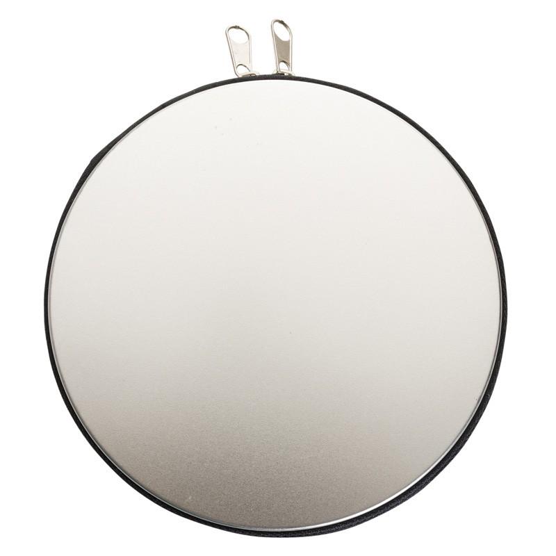 Porta CD alumínio c/ Zíper Ref.0021510