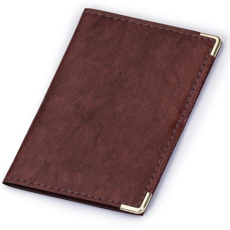 Porta documento em couro sintético com divisórias - Ref.0019305