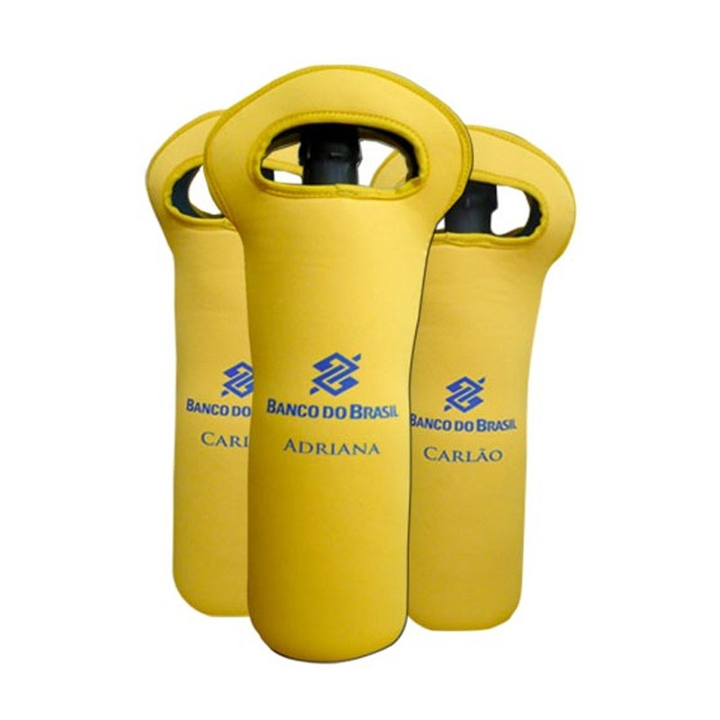 Porta Garrafa com Alça em Neoprene Ref.0014650