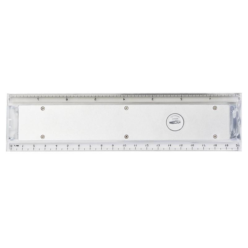 Régua com Calculadora 20 cm com 7 dígitos - Ref.0019215
