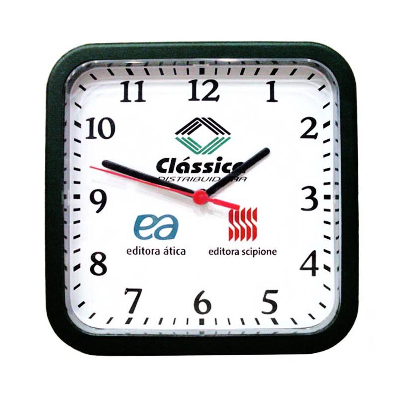 Relógio de Parede Quadrado - Ref.0014645