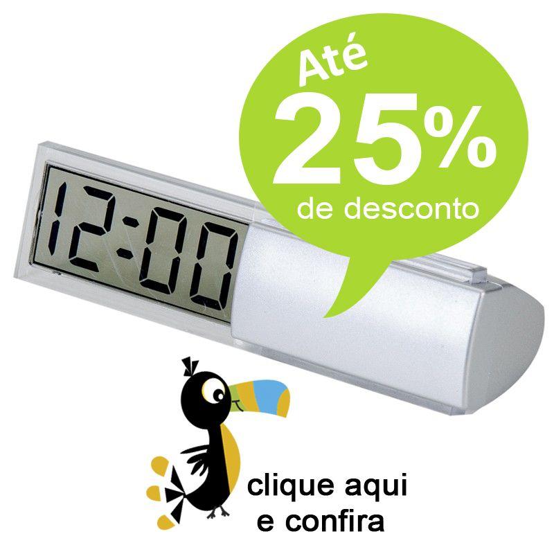 Relógio LCD de mesa - Ref.0014665