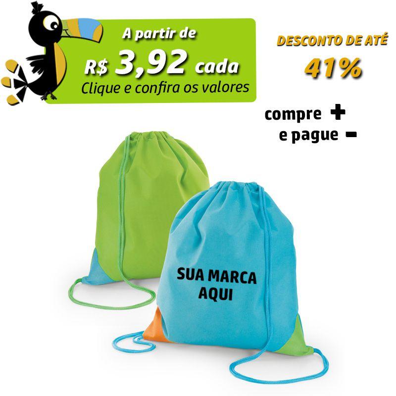 Sacochila Blue & Green - Ref.0020209