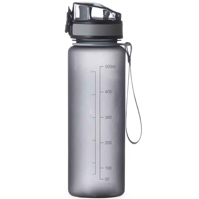 Squeeze fosco 600ml com medidor - Ref.0018170