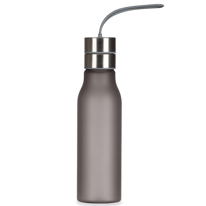 Squeeze plástico fosco de 600ml com tampa de peneira Ref.0018135