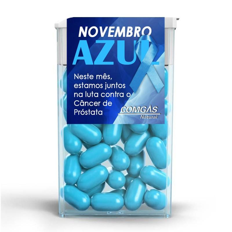 Tic Tac Personalizado Novembro Azul - Ref.0014986