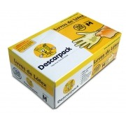 Luva Procedimento M 100und Descarpack - (Descarpack)