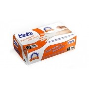 Luva Procedimento M 100und Medix - (MEDIX BRASIL PROD HOSP ODONT )