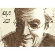 Poster Jacques Lacan, psicanalista francês e intérprete da obra de Freud